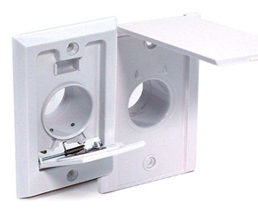 Basic Inlet Valve Wall Plates for your Central Vacuum system